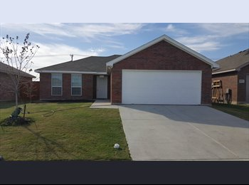 EasyRoommate US - 1 Bd rm, New Home,$500/month all bills paid! No Deposit! Aval 1 Aug, Fort Worth - $500 /mo