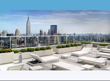 EasyRoommate US - Cozy 1 BR in FiDi Luxury High RIse - Financial District, NYC - $1,600 /mo