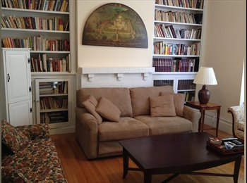 1 bedroom 1.5 bath available in beautiful flat-share, all...
