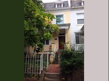 Room Available in Beautiful Columbia Heights Rowhouse