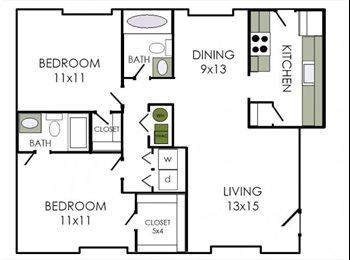 EasyRoommate US - Graduate Student Professional Looking for Roommate! - Augusta, Augusta - $350 /mo