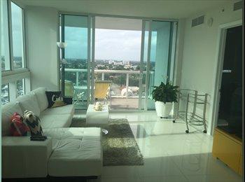 EasyRoommate US - Beautiful apartment, stunning view!!  - Little Havana, Miami - $1,250 /mo