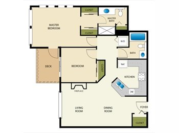 Roomate wanted for 2br/2ba Renton apartment