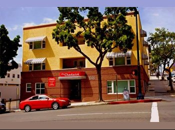 EasyRoommate US - Furnished room whit private bath for rent downtown San Diego, Cortez Hill - $950 /mo