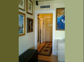 NEW - Flatmate/roommate wanted by part time resident and...