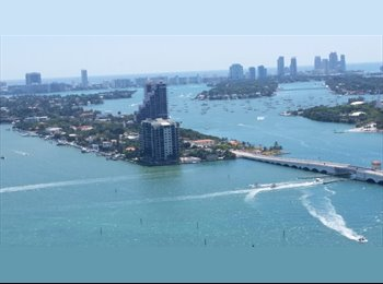 $1295 DOWNTOWN MIAMI looking for roommate Beautiful...