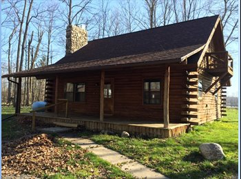 Log Cabin in the country - Lawrence MI