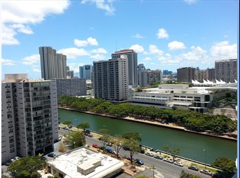 EasyRoommate US - Waikiki room, in large 3Bedroom/2Bathroom condo - Oahu, Oahu - $1,000 /mo