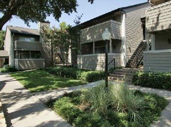 EasyRoommate US - Needing a Roommate Until August - University Park, Dallas - $600 /mo