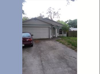 EasyRoommate US - two rooms to rent in house located close to downtown, Tampa - $475 /mo