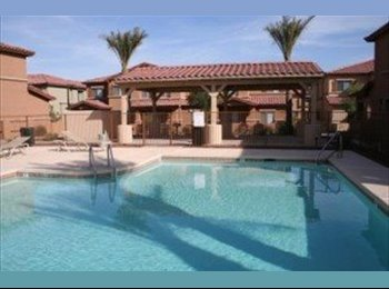 EasyRoommate US -  $525 / 1200ft2 - ROOMMATE WANTED 1,200 sq/ft 2 bedroom condo in Scottsdale gated comm. - Scottsdale, Scottsdale - $515 /mo