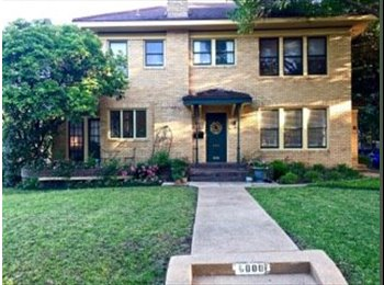EasyRoommate US - Looking for roommate to share incredible M Streets home with me - East Dallas, Dallas - $1,050 /mo