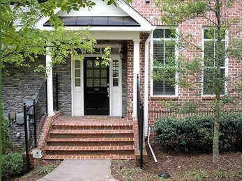 Basement room for rent in Sandy Springs in gated community
