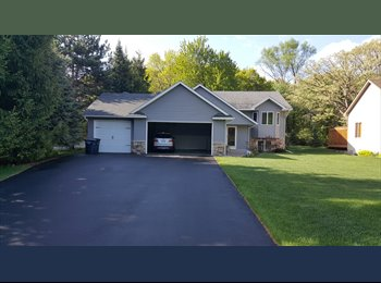 Beautiful home with room available
