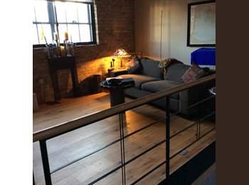 Historic A Mill Artist Loft / Bedroom + Pvt bath