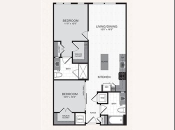 EasyRoommate US - Roommate wanted for September 2BR - Alexandria, Alexandria - $1,100 /mo