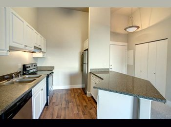 EasyRoommate US - Room and Bathroom in Luxury condo on Lake City Way - Lake City, Seattle - $600 /mo