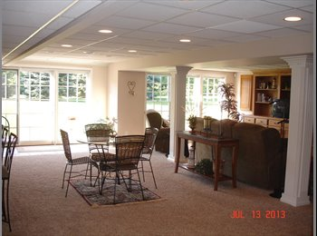 EasyRoommate US - Beautifully decorated and fully furnished completely separate living space - Rochester Area, Detroit Area - $950 /mo