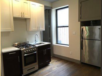 Newly renovated rooms available in Crown Heights