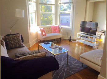 Bright Room Available in Cute Apt near Duboce Park