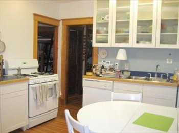 EasyRoommate US - 1200 sq foot apartment shared with one - Jamaica Plain, Boston - $1,500 /mo