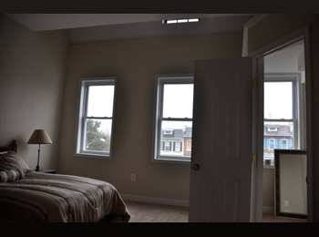 Master bedroom, private bathroom in newly renovated...