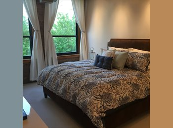fully furnished king-sized bdrm available for immediate...