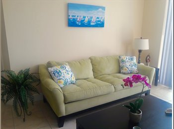 Renting a room in Midtown/Biscayne Boulevard all included.