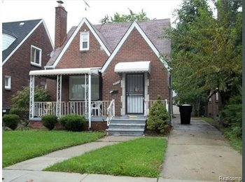 EasyRoommate US - Very Specious and private near public trasportation scheafer & Plymouth, Detroit Area - $350 /mo