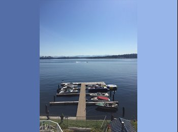 Lakefront Apartment expansive dock and pool!