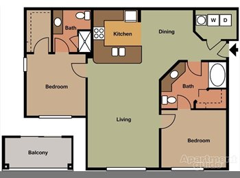 EasyRoommate US - Apartment in Brier Creek area in North Raleigh, Raleigh - $640 /mo