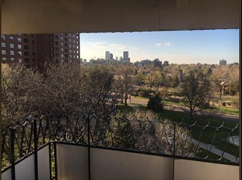 Room Available July 1st in 2BR 2BA Top Floor Apt in Wash...