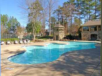 EasyRoommate US - Fully Furnished -Large 1 bedroom with 2 closets and porch access, Sandy Springs - $725 /mo