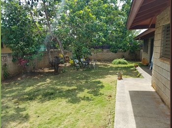 EasyRoommate US - $715 ROOM FOR RENT, NORTH SHORE. Quiet.Safe.Clean, Waialua - $715 /mo