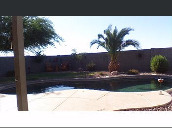 EasyRoommate US - Room available in a clean and beautiful home, Maricopa - $550 /mo