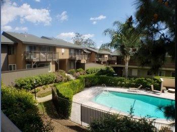 EasyRoommate US - Spacious Apt Room For Rent in Quiet Apartment Complex , La Habra - $750 /mo