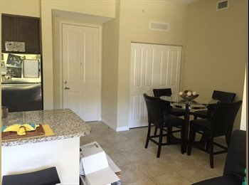 EasyRoommate US - Good size room in a beautiful complex!!, Sunrise - $1,000 /mo