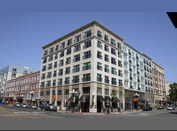 EasyRoommate US - Room w/ private bath for rent in downtown San Deigo. , San Diego - $1,150 /mo