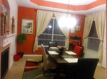 $500 Rooms available for rent close to the IAH airport...