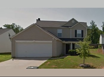 EasyRoommate US - (roommate wanted) 4 room house, Greenville - $550 /mo