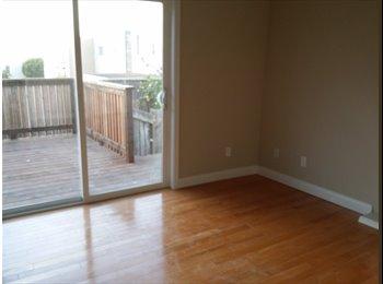EasyRoommate US - Private Room Hardwood floor big closet big deck , Daly City - $1,100 /mo