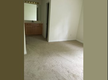 EasyRoommate US - Unfurnished/decent size room with private bathroom, Greensboro - $500 /mo