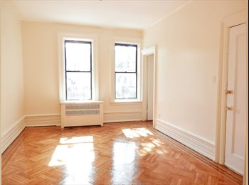 EasyRoommate US - Rent the entire floor 3br apt*Crown Heights*Near 2,3,4,5 trains, Kings County - $3,100 /mo