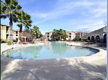 EasyRoommate US - Sublease at the Lodge at Southwest plus $100, San Marcos - $539 /mo