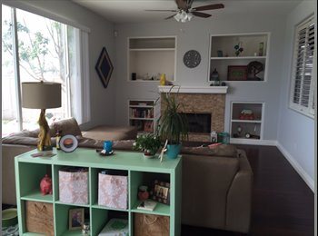 EasyRoommate US - $825 + utils for Beautiful, Clean, Friendly Home 4br/2.5ba; UNfurnished, San Diego - $825 /mo