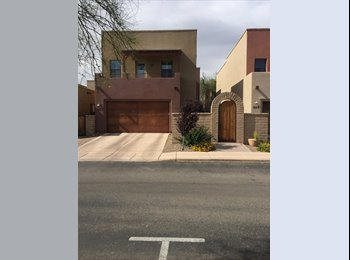 EasyRoommate US - Looking for two U of A female students to share a beautiful 4 bedroom/3 bathroom house located adjac, Tucson - $650 /mo