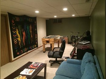 Spacious Basement in Midtown
