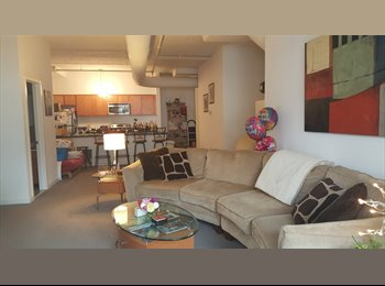 Inner Harbor loft apt for rotating students/travel...
