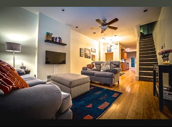 EasyRoommate US - Huge, New Private Bedroom and Bathroom, Philadelphia - $950 /mo