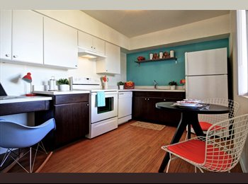 FEMALE ONLY  lease takeover in nice apartment